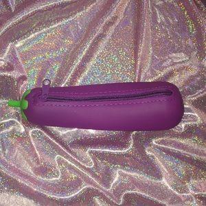 Handbags - 4/$25 Eggplant Pencil/Makeup/420Case🍆
